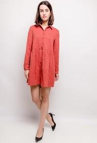 NOÉMIE & CO printed shirt dress