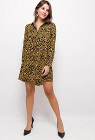 NOÉMIE & CO printed fluid dress