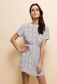 NOÉMIE & CO bedrukte jurk
