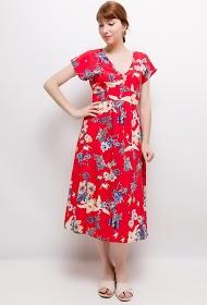 NOÉMIE & CO printed midi dress