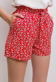 NOÉMIE & CO shorts mit leopardenmuster