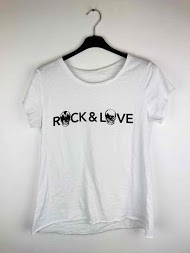 NT FASHION camiseta «rock & love»