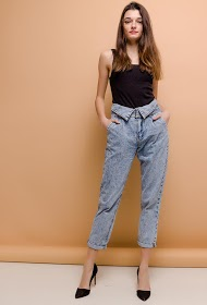 QUEEN HEARTS jeans with cuff