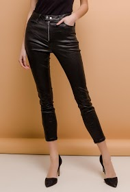 QUEEN HEARTS faux leather pants