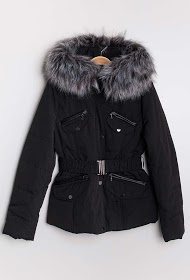 REDIAL down jacket with belt