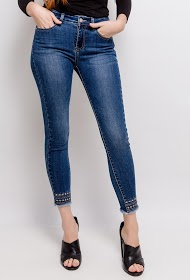 REDIAL jeans with fancy ankles