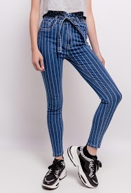 REDIAL striped jeans