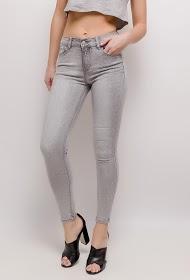 REDIAL rhinestone-embellished skinny jeans