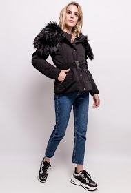 REDIAL quilted coat