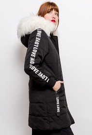 REDIAL parka with bands love