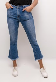 ROY LYS jeans with frayed hem
