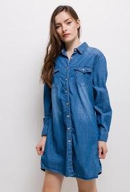 SIMPLY CHIC denim shirt dress