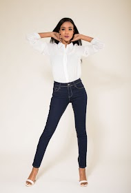 SIMPLY CHIC jean skinny push-up