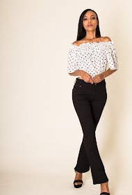 SIMPLY CHIC flared trousers