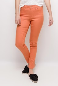 SIMPLY CHIC large size slim trousers