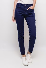 SIMPLY CHIC pants slim grante