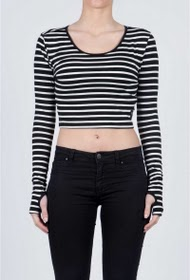 SIXTH JUNE zesde juni crop top dames zeeman 814vt