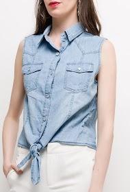 SOFTY sleeveless shirt without sleeve
