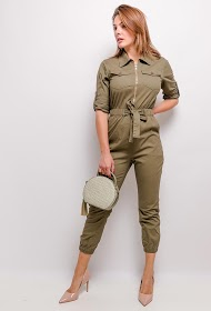 SOFTY jumpsuit with zip