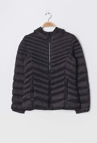 SOFTY quilted down jacket with hood