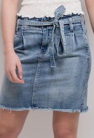 SOFTY denim skirt