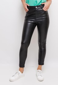 SOFTY pants in simili leather