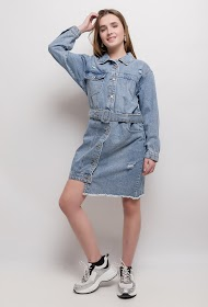 SOFTY denim dress