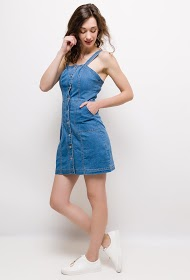 SOFTY jeans a bretelles dress