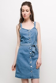 SOFTY jeansoverall kleid