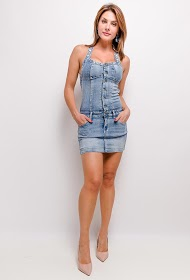 SOFTY denim overalls