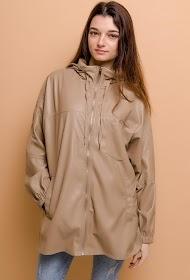 SOFTY faux leather jacket