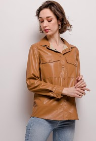 SOFTY faux leather jacket