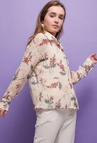 SOPHYLINE chemise fleurie