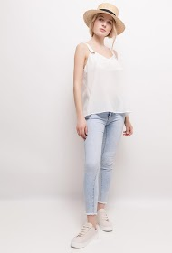 SOPHYLINE tank top with rings