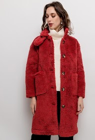 SOPHYLINE plush coat