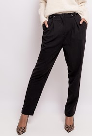SOPHYLINE trousers with decorative buttons