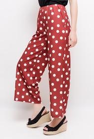 SOPHYLINE wide polka dot trousers