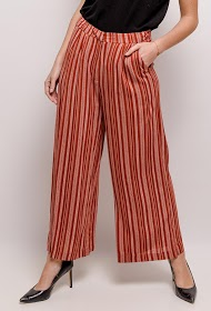SOPHYLINE striped trousers