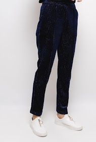 SOPHYLINE velvet trousers