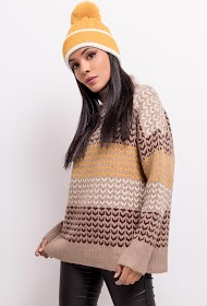 SOPHYLINE patterned sweater