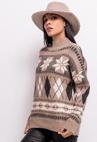 SOPHYLINE patterned sweater