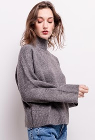 SOPHYLINE fire collar sweater