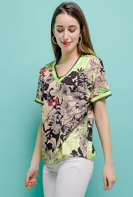 SOVOGUE tropical blouse
