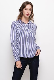 SOVOGUE striped shirt