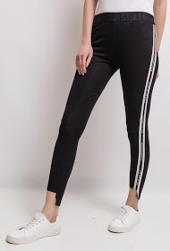 SOVOGUE leggings with side bands