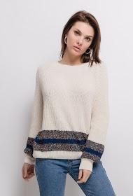 SOVOGUE ribbed sweater
