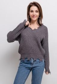 SOVOGUE speckled sweater