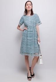 SOVOGUE lace dress