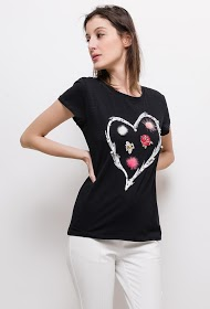 SOVOGUE herz-t-shirt