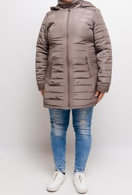 SPATIAL 3/4 slim down jacket